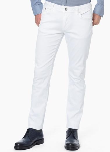 NetWork Denim Pantolon Beyaz